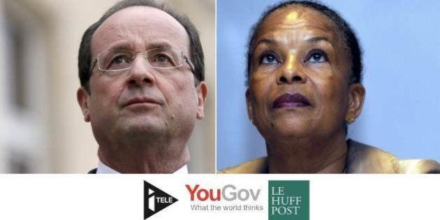 Popularité: Hollande et Ayrault s'effondrent, Taubira se relève... Les tops et les flops de