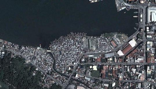 L'impressionnant avant/après du passage du typhon