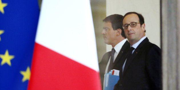 Attentats: la popularité de Hollande rebondit de 5 points, celle de Valls de 7 selon un