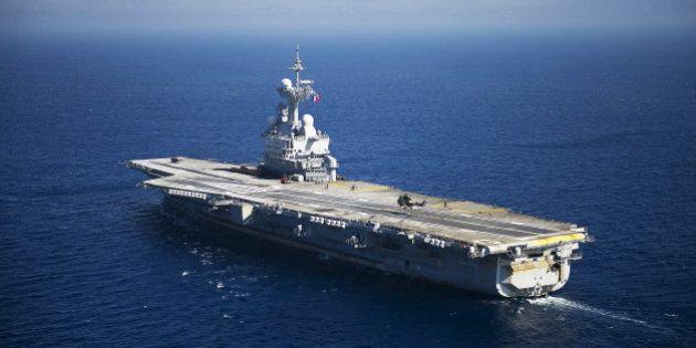 Charles-de-Gaulle: découvrez le porte-avions d'où François Hollande adresse ses voeux aux armées
