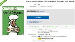 Charlie Hebdo : PriceMinister et LeBonCoin interdisent la revente à prix