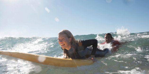 Des cours de surf pour améliorer son