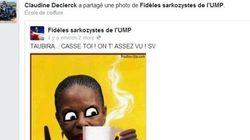 Une UMP épinglée par le PS pour un montage raciste partagé sur