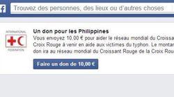 Un bouton sur Facebook pour aider les