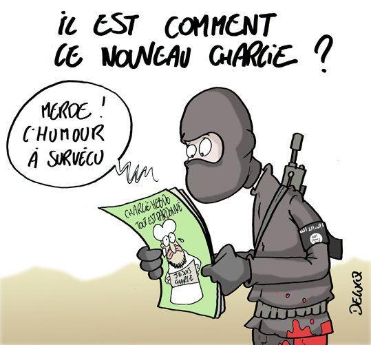 Charlie Hebdo: le journal n'est pas