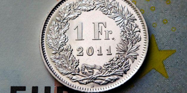 Suisse: krach boursier après une décision monétaire