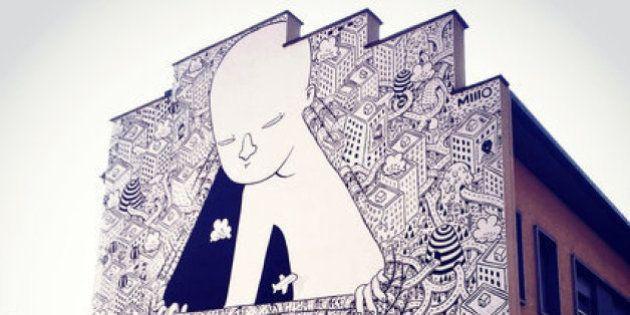 PHOTOS. Millo ou le street-art italien aux fresques
