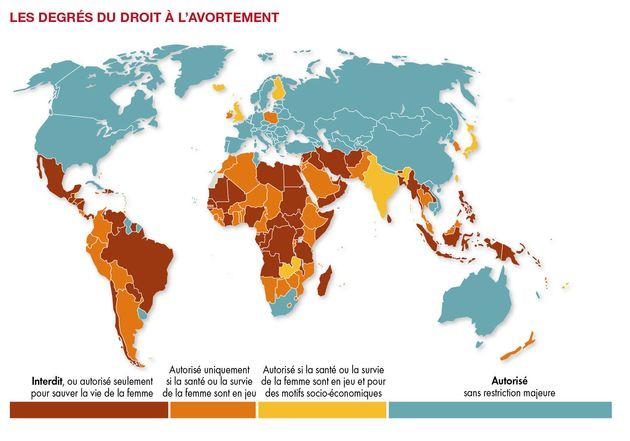En France Et Dans Le Monde L Avortement Un Droit A Defendre Le