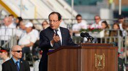 Hollande en Israël: la France