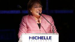 Présidentielle chilienne: Michelle Bachelet largement en tête du premier