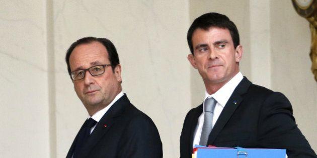 Les cotes de popularité de François Hollande et Manuel Valls reprennent des