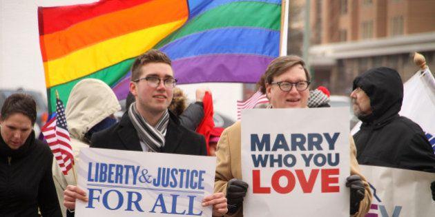Mariage gay aux États-Unis : la Cour suprême va enfin décider si les homosexuels peuvent se marier dans...