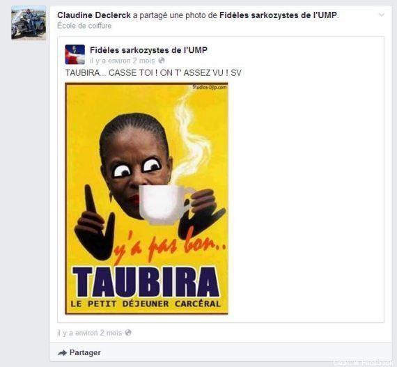 Racisme: l'élue UMP ayant partagé