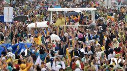 Une foule de 6 millions de personnes rassemblée pour le pape à
