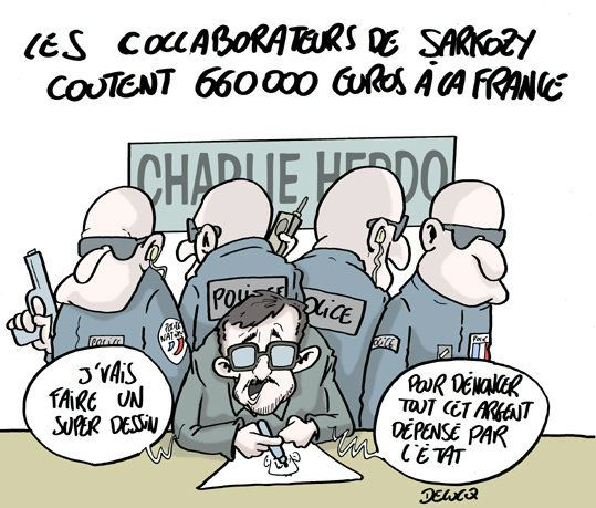 Sarkozy coûte-t-il trop cher à la