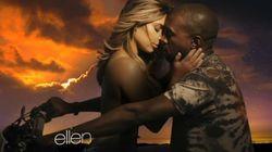 Kim topless dans le dernier clip de