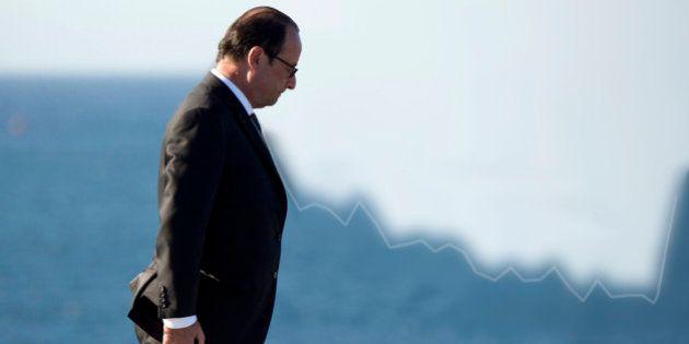 La popularité de François Hollande rebondit après les attentats, jusqu'à