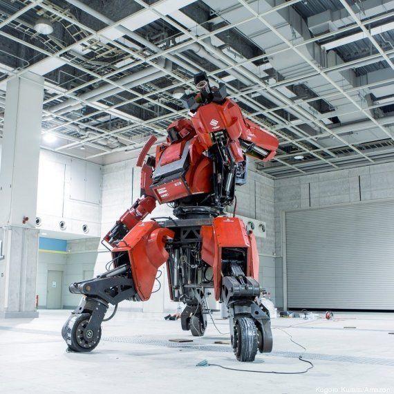 PHOTOS. En vente sur Amazon : un robot de guerre à près de 900.000