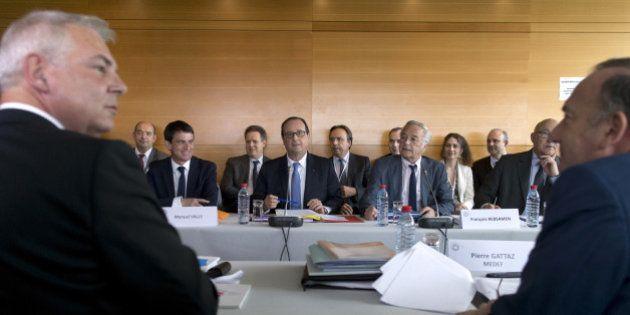 Hollande enterre la conférence sociale et met les partenaires sociaux face à leurs