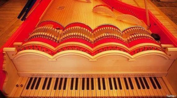 VIDÉO. Le piano inventé par Léonard de Vinci voit enfin le
