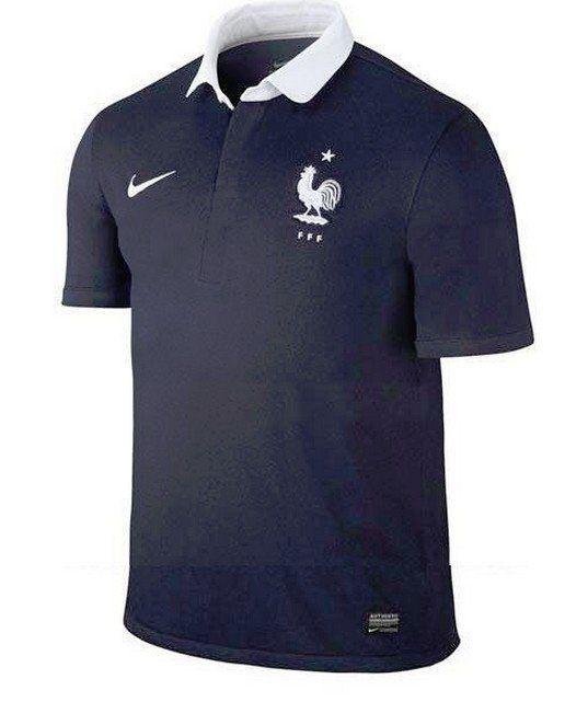 Maillot de l'équipe de France: Nike présente sa version pour le Brésil