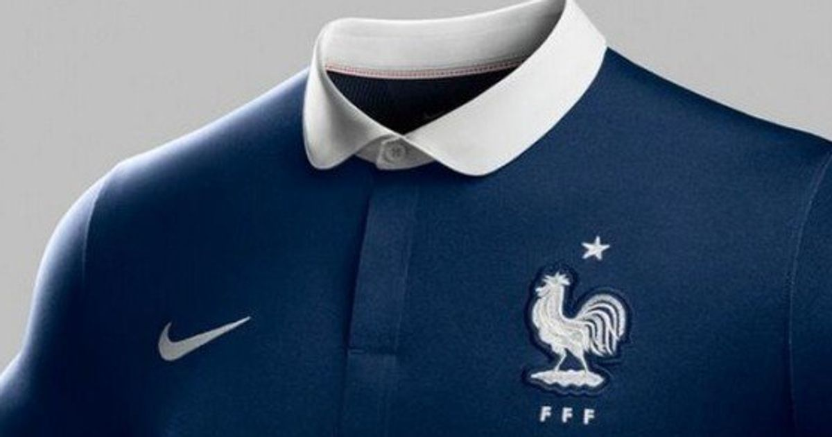 1f962eccd0 Maillot de l'équipe de France: Nike présente sa version pour le Brésil 2014  | Le Huffington Post