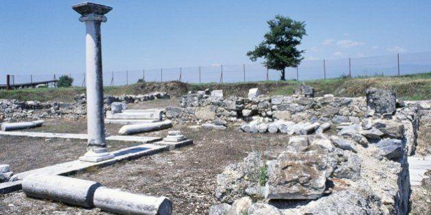 Archéologie : en Grèce, les archéologues face au mystère du tombeau