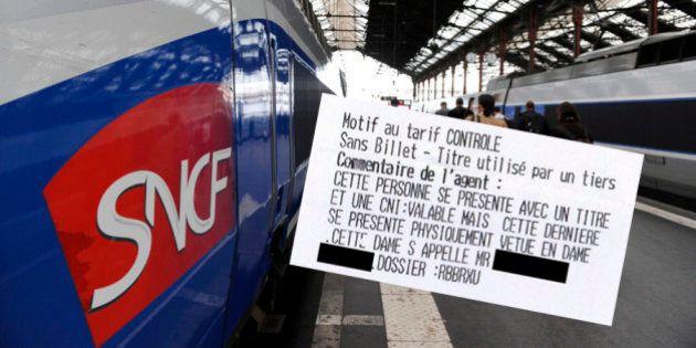 SNCF: une transexuelle reçoit une amende dans un TGV. L'histoire fait le tour du