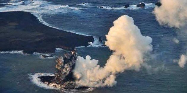 Japon: Une nouvelle île découverte