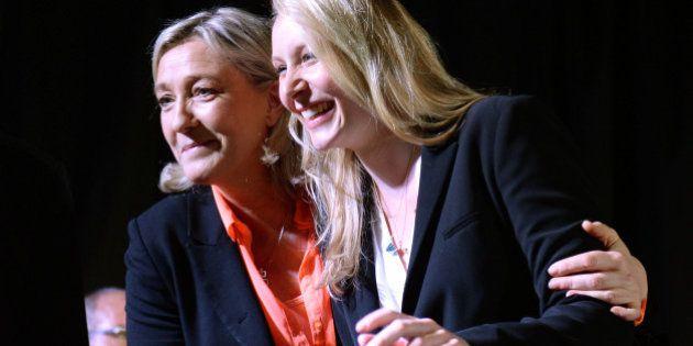 Marion Maréchal contredit Marine Le Pen en relayant une vidéo controversée d'Aymeric