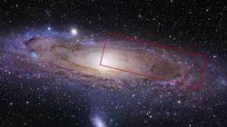 La galaxie d'Andromède comme vous ne l'avez jamais
