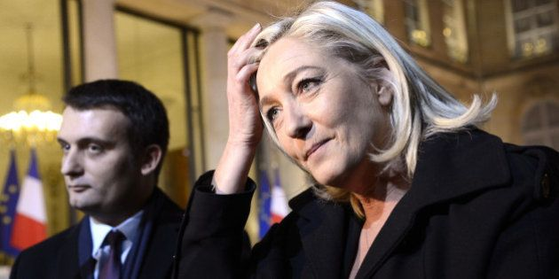 Marine Le Pen en difficulté entre sa gestion chaotique des attentats et des bisbilles internes au
