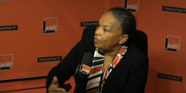 Indignité nationale: Christiane Taubira très réservée sur