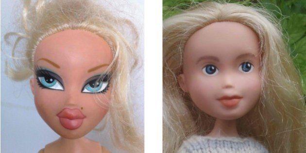 PHOTOS. Elle modifie des poupées Bratz pour qu'elles aient l'air plus