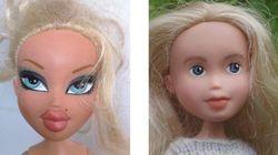 Elle relooke des poupées Bratz façon