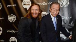 David Guetta a essayé d'apprendre à danser à Ban Ki-moon pour la bonne