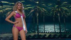 Le défilé en maillot de bain des candidates pour Miss
