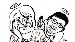 Il y a un an, Charb rendait hommage à Cavanna qui venait de nous