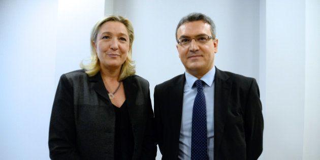 Vidéo controversée au FN: Marine Le Pen rétrograde Aymeric Chauprade au rang de simple