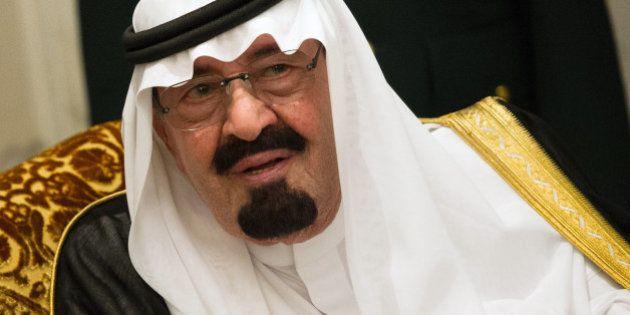 Le roi Abdallah d'Arabie saoudite est