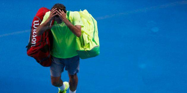 Open d'Australie 2015: Roger Federer éliminé au 3e tour par Andreas