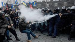 Manifestation monstre en Ukraine contre l'arrêt des négociations avec