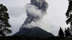 Indonésie: Les terrifiantes photos de l'éruption du