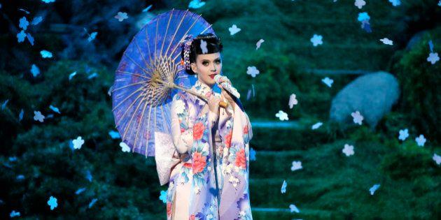 Katy Perry : Raciste, sa performance lors des American Music