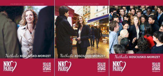 L'affiche de NKM pour les municipales soumise au vote des