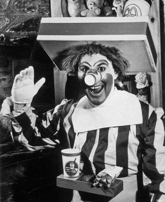 Ronald McDonald : voici la première version de la mascotte de