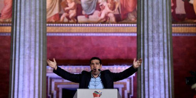 Syriza remporte les élections législatives greques mais rate de peu la majorité