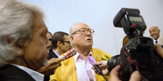 La maison de Jean-Marie Le Pen ravagée par incendie, le patriarche du FN légèrement