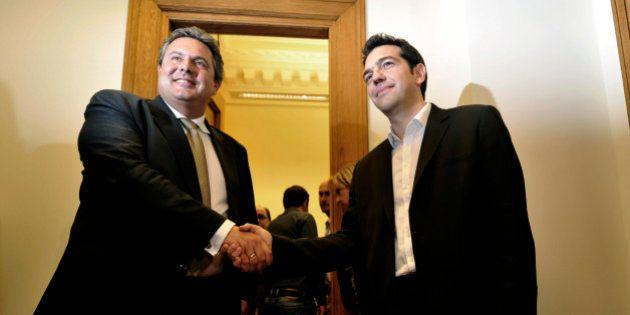 Grecs indépendants : un parti souverainiste anti-immigration allié de circonstance de