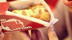 KFC fait se rencontrer son sandwhich au poulet et un hot